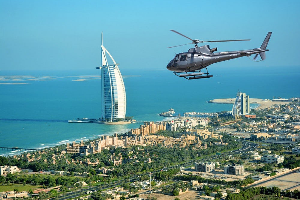Iconic Helicopter Tour - 12 Mins