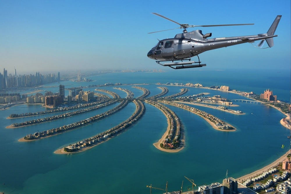 The Vision Helicopter Tour - 22 Mins