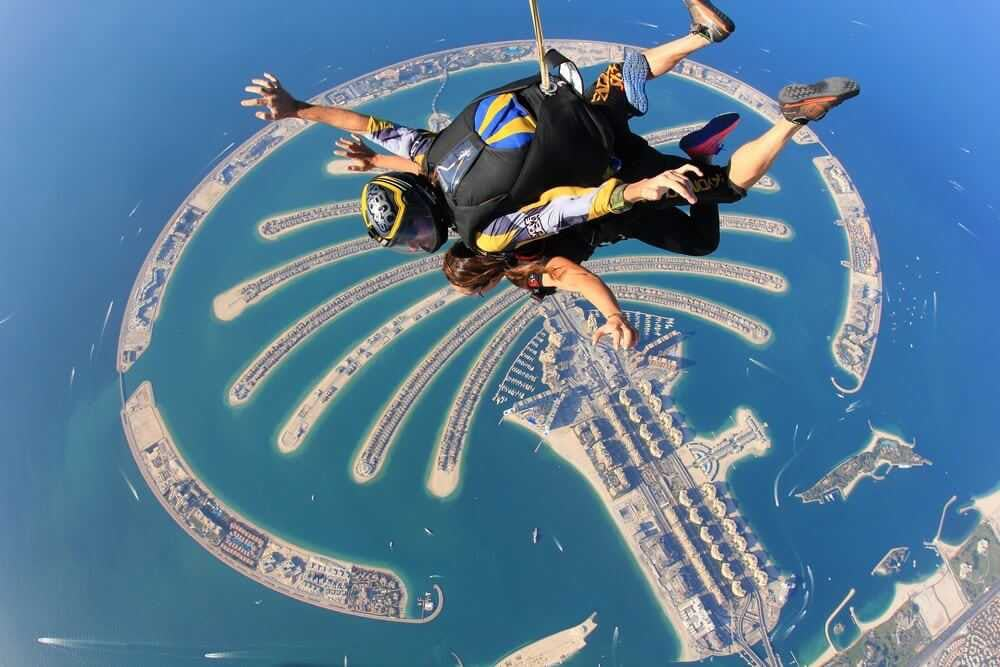SkyDive Dubai - Tandem
