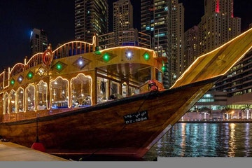 4 Star Dinner Cruise - Dubai Creek